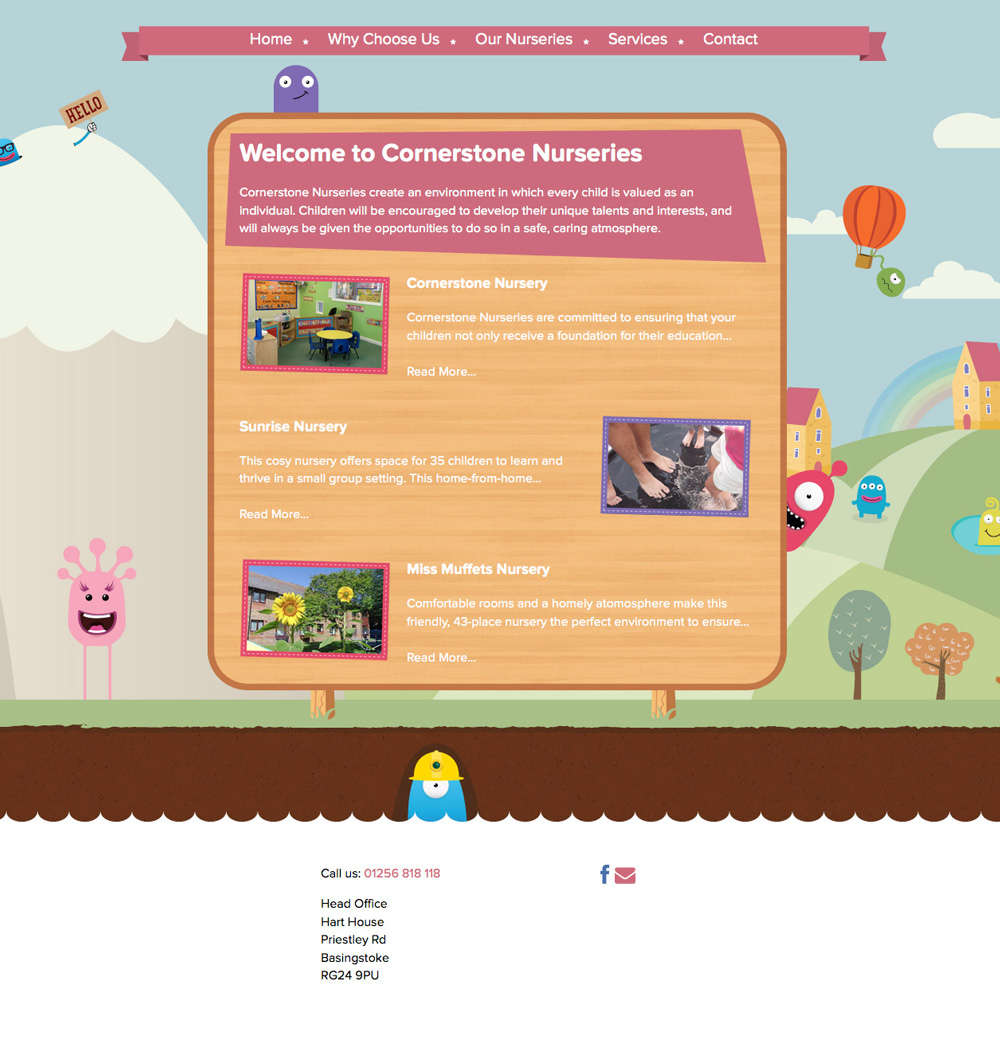Cornerstone Nurseries cornerstone homepage2
