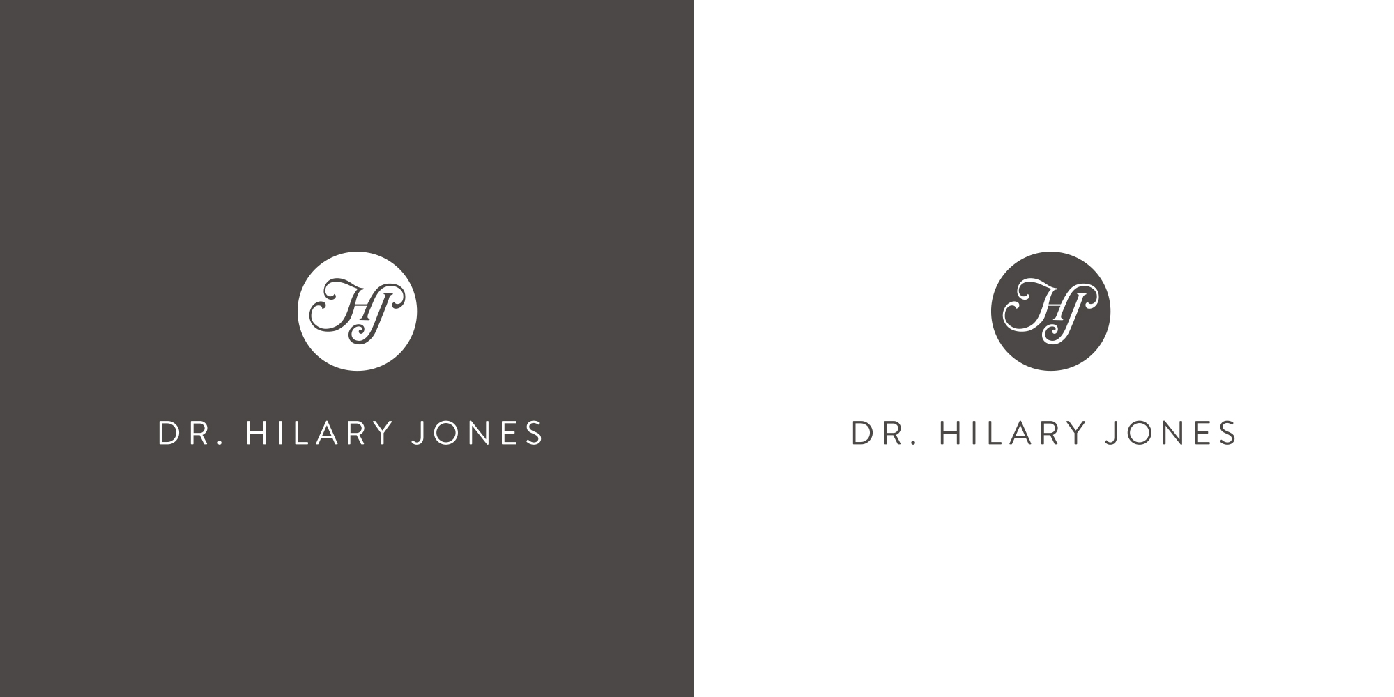 Dr Hilary Jones hj logos