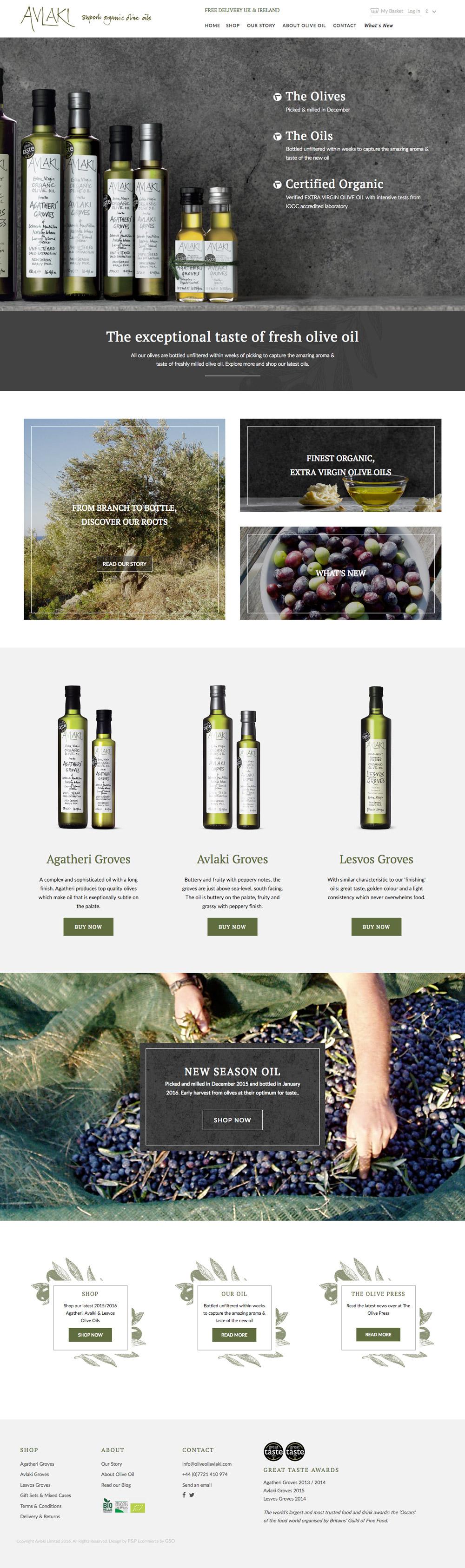 Avlaki Olive Oil avlaki homepage
