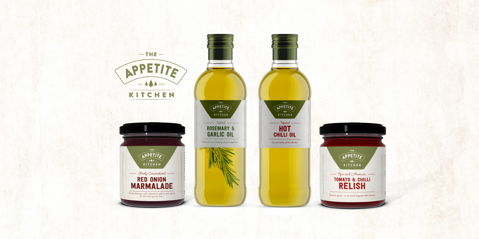 The Appetite Kitchen product mockup