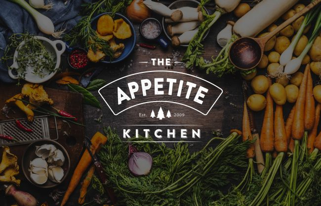 The Appetite Kitchen tak logo mockup 650x418 website design Point & Pixel Creative | Graphic Design + Website Design Basingstoke tak logo mockup 650x418